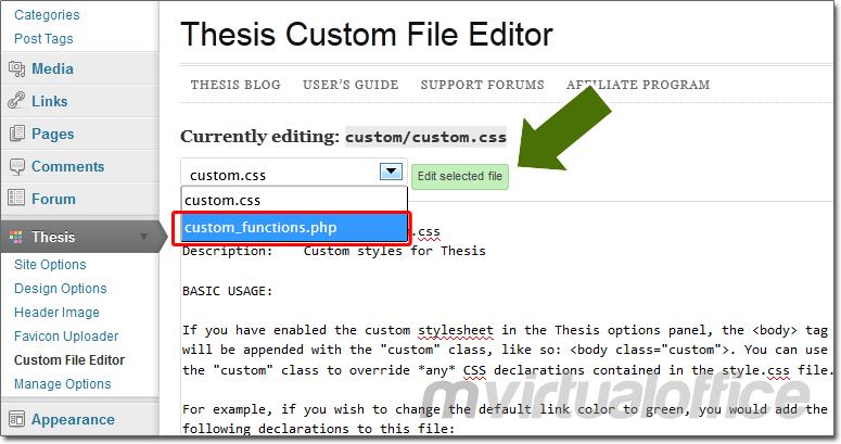 Thesis Tutorial - Creating Custom Categories - Sugarrae